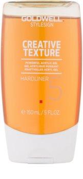 Goldwell StyleSign Creative Texture Showcaser 3 gel acrílico con fijación extra fuerte