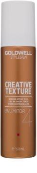 Goldwell StyleSign Creative Texture Unlimitor 4 cera de cabelo em spray