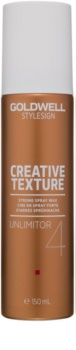 Goldwell StyleSign Creative Texture Unlimitor 4 cera de pelo en spray