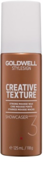 Goldwell StyleSign Creative Texture Showcaser 3 cera en mousse para cabello