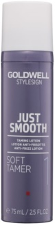 Goldwell StyleSign Just Smooth προστατευτικό γαλάκτωμα για την αντιμετώπιση του  κρεπαρίσματος  μαλλιών