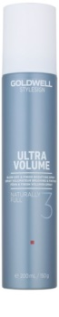 Goldwell StyleSign Ultra Volume spray protector térmico para dar volumen y para el styling del cabello