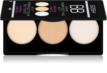 Gosh BB Cream Palette mit Korrekturstiften