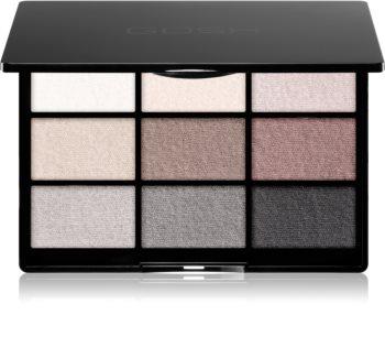 Gosh 9 Shades Palette Lidschatten-Palette mit Spiegel