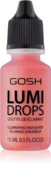 Gosh Lumi Drops blush liquide