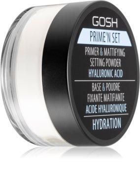 Gosh Prime'n Set 2 in 1 primer si balsam anti-stralucire