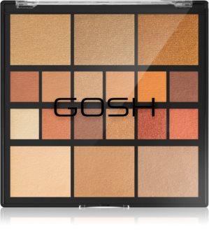 Gosh Grab & Go Palette visage et yeux
