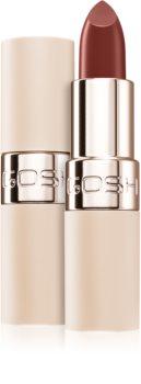Gosh Luxury Nude Lips polomatná rtěnka s hydratačním účinkem