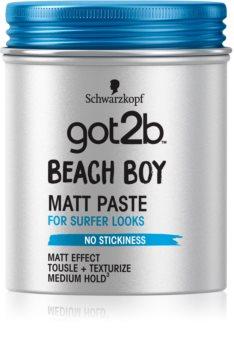 got2b Beach Boy матираща паста за фиксиране и оформяне