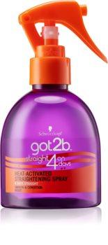 got2b Straight on 4 Days spray para alisar el cabello
