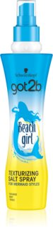 got2b Beach Girl Spray com sal para styling para cabelo