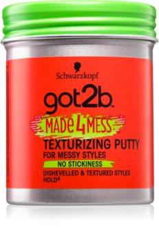 got2b Made 4 Mess моделирующая мастика для волос