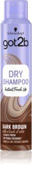 got2b Fresh it Up Droog Shampoo  voor Bruin Haar