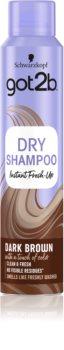 got2b Fresh it Up șampon uscat pentru nuante de par castaniu