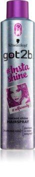 got2b Insta-Shine lak na vlasy pro lesk