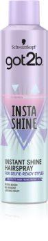 got2b Insta-Shine laque cheveux brillance