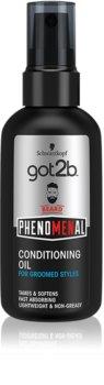 got2b Phenomenal óleo de cuidado para a barba