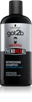 got2b Phenomenal șampon revigorant, pentru păr și barbă