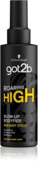 got2b Roaring High formázó spray a hajtérfogat növelésére