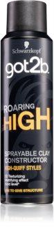 got2b Roaring High моделирующая глина в виде спрея