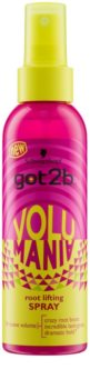 got2b Volumania spray styling para dar volume desde a raiz