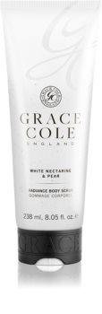 Grace Cole White Nectarine & Pear pečující tělový peeling
