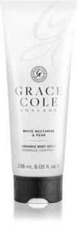 Grace Cole White Nectarine & Pear ухаживающий пилинг для тела