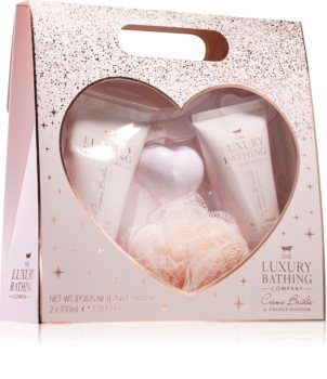 Grace Cole Luxury Bathing Creme Brulée & Orange Blossom Gift Set (for Shower)