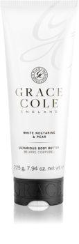 Grace Cole White Nectarine & Pear manteiga corporal