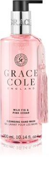 Grace Cole Wild Fig & Pink Cedar sapone liquido delicato per le mani