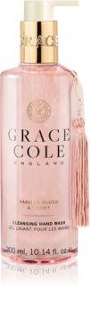 Grace Cole Vanilla Blush & Peony Hoitava Nestemäinen Käsisaippua