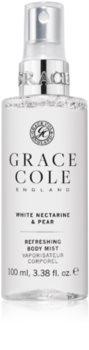 Grace Cole White Nectarine & Pear erfrischender Sprühnebel für den Körper