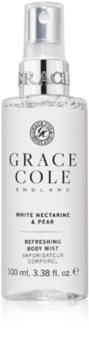 Grace Cole White Nectarine & Pear spray rinfrescante per il corpo