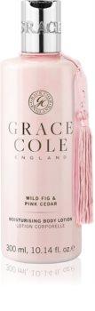 Grace Cole Wild Fig & Pink Cedar jemné hydratační tělové mléko