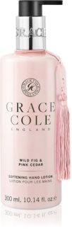 Grace Cole Wild Fig & Pink Cedar crema para manos suave