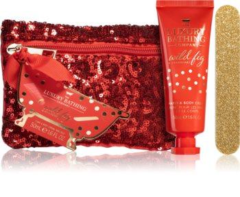 Grace Cole Luxury Bathing Wild Fig & Cranberry confezione regalo (per mani e unghie)