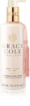 Grace Cole Vanilla Blush & Peony ošetrujúci krém na ruky