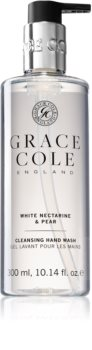 Grace Cole White Nectarine & Pear sapun lichid delicat pentru maini