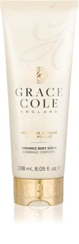 Grace Cole Nectarine Blossom & Grapefruit gommage corps