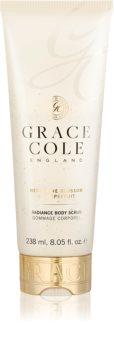 Grace Cole Nectarine Blossom & Grapefruit tělový peeling