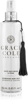 Grace Cole White Nectarine & Pear hydratisierender Nebel für den Körper