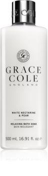 Grace Cole White Nectarine & Pear relaxačný kúpeľový a sprchový gél