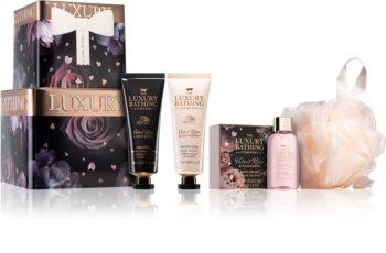 Grace Cole Luxury Bathing Velvet Rose & Raspberry Geschenkset (für den Körper)