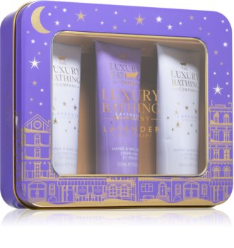 Grace Cole Luxury Bathing Lavender Sleep Therapy Gift Set (for Hands and Nails)