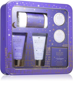 Grace Cole Luxury Bathing Lavender Sleep Therapy Gavesæt