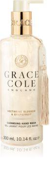 Grace Cole Nectarine Blossom & Grapefruit čistiace tekuté mydlo na ruky