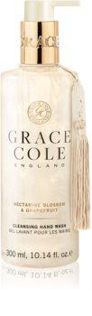 Grace Cole Nectarine Blossom & Grapefruit sabonete líquido para mãos