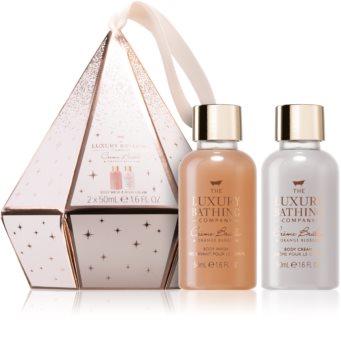 Grace Cole Luxury Bathing Creme Brulée & Orange Blossom darčeková sada (na telo)