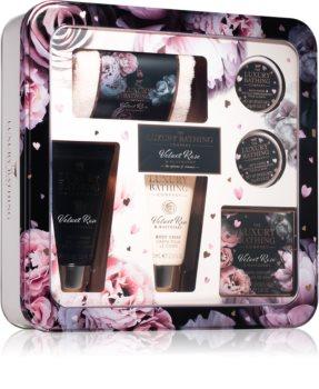 Grace Cole Luxury Bathing Velvet Rose & Raspberry dárková sada (do koupele)