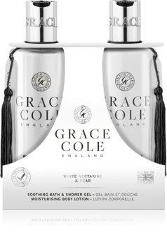 Grace Cole White Nectarine & Pear coffret cadeau I. pour femme